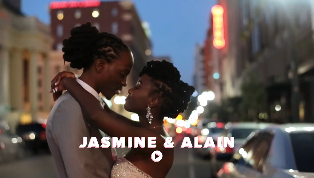 The Free Wedding - Jasmine and Alain